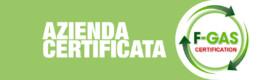 Paganini Graziano Azienda certificata F-Gas