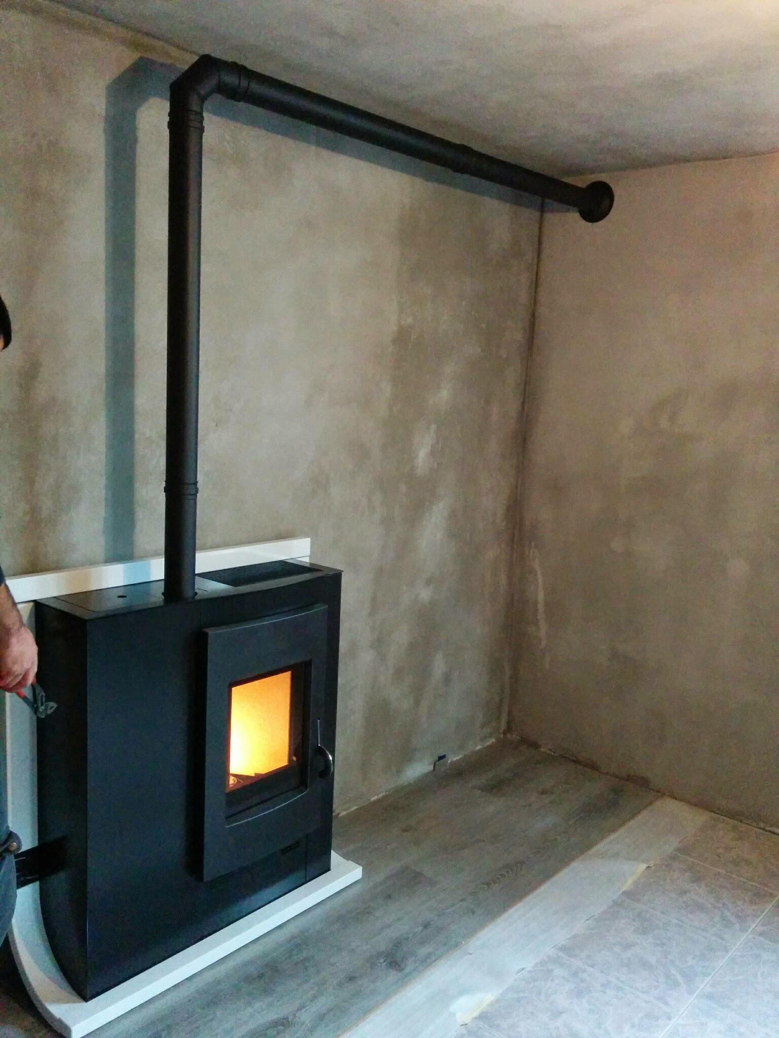 Stufe A Pellet Installazione Esterna installazione canna fumaria dp stufa a pellet edilkamin mod