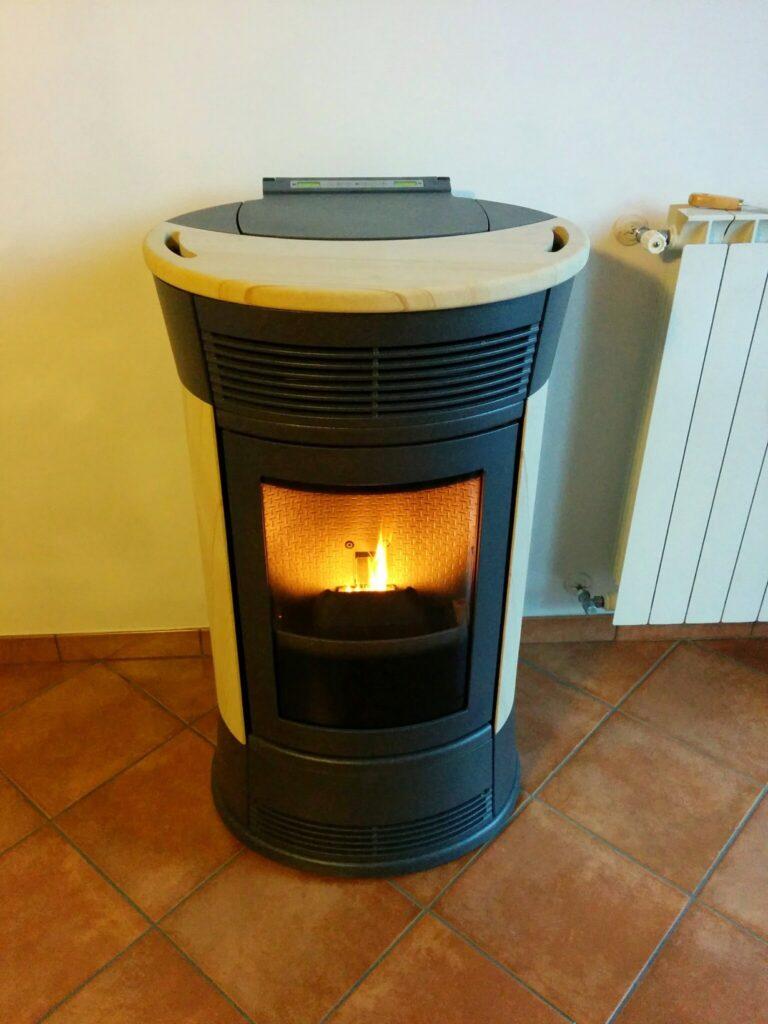 Installazione canna fumaria dp stufa a pellet edilkamin mod funny paganini graziano - Installazione stufa a pellet ...
