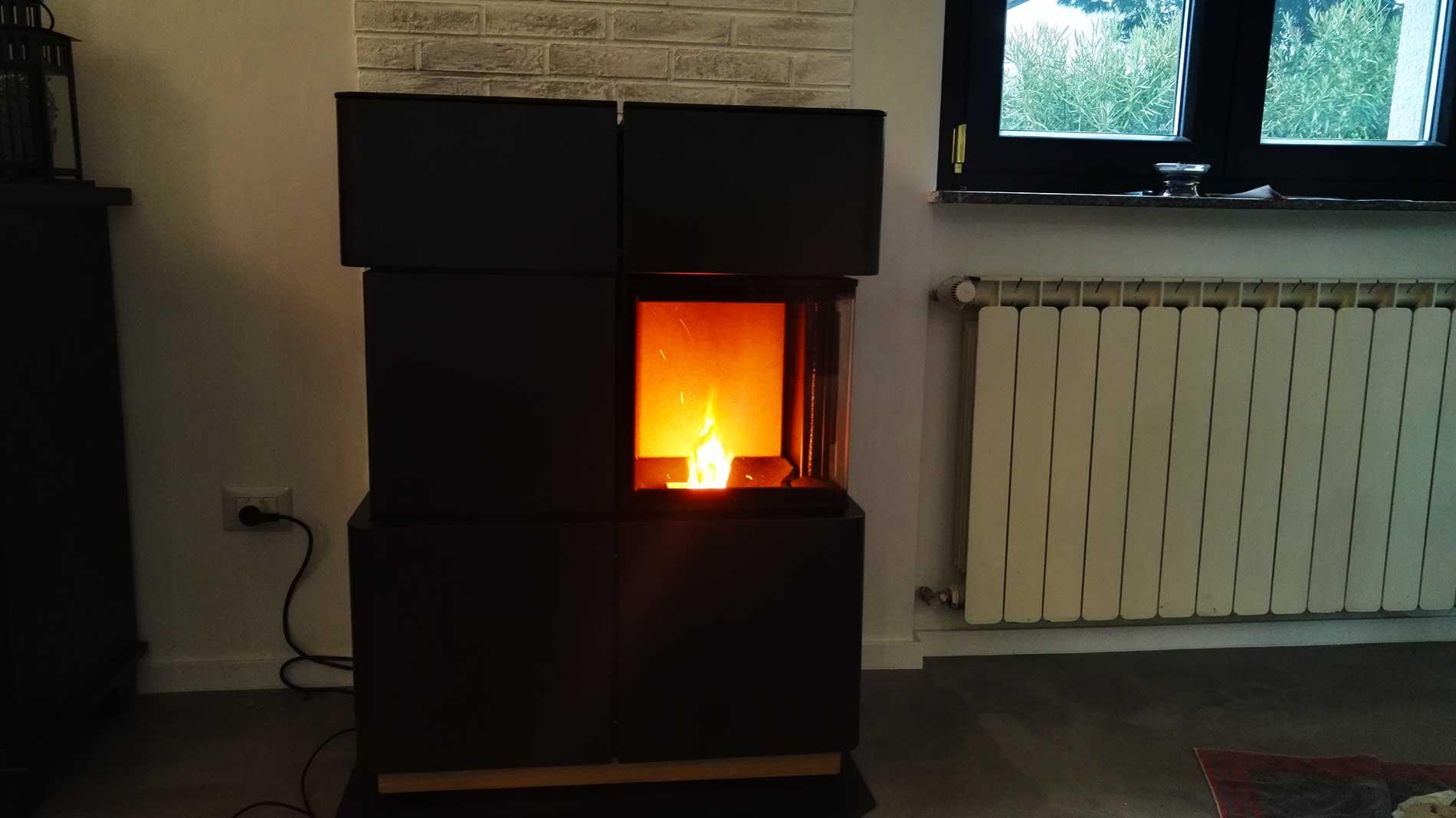 Installazione canna fumaria stufa a pellet ravelli - Stufa a metano con canna fumaria ...