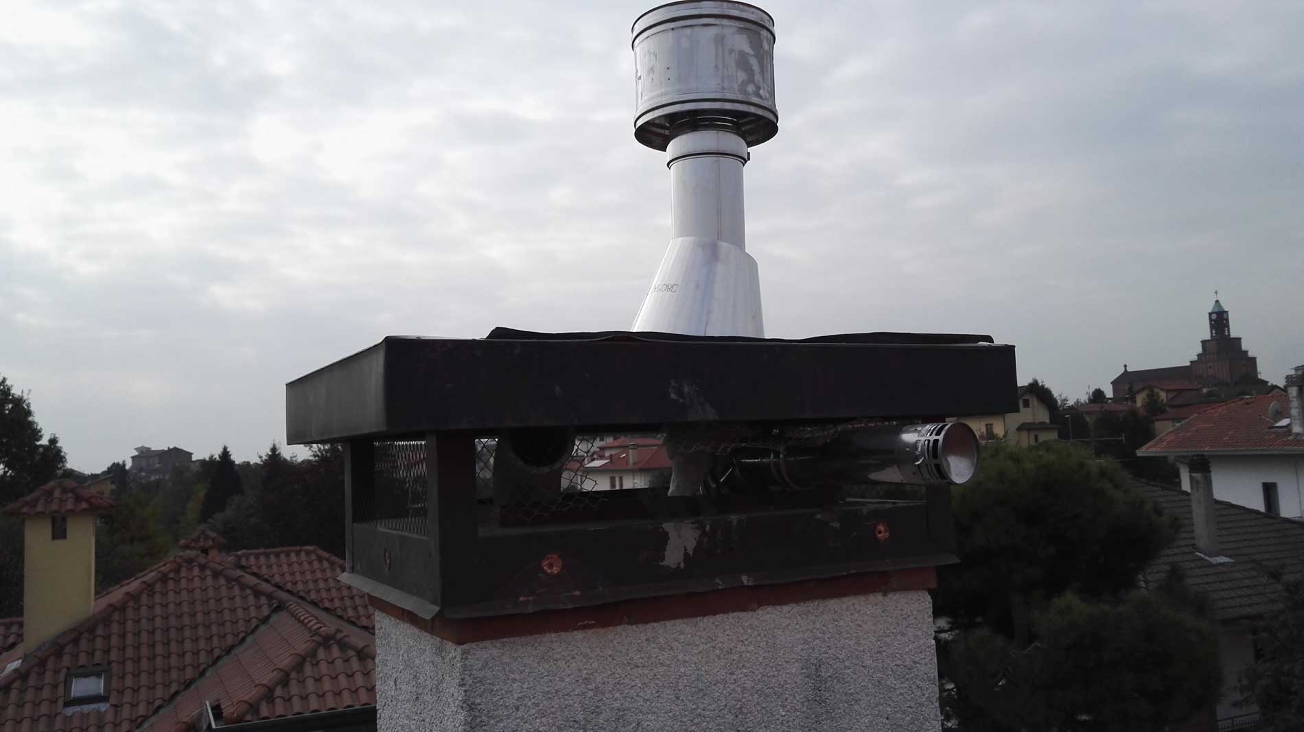 Installazione canna fumaria stufa a pellet ravelli - Canna fumaria esterna normativa ...