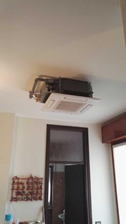 Paganini Graziano Installazione condizionatore mono split Mitsubishi Electric in pompa di calore Buscate, Milano