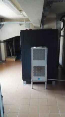 Installazione pannelli EUROPAN Sala Server Canegrate Milano