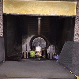 Installazione canna fumaria per inserto a pellet marchio Ravelli San Giorgio su Legnano 06