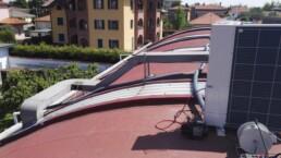 Installazione sistema VRF Mitsubishi Electric Busto Garolfo Milano esterno