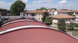 Installazione sistema VRF Mitsubishi Electric Busto Garolfo Milano tetto