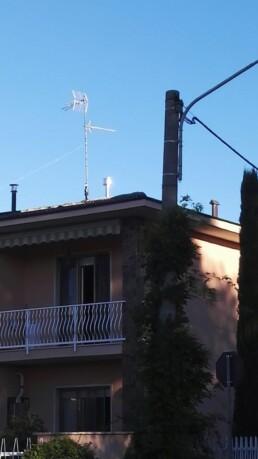 Installazione canna fumaria per stufa a pellet marchio Ravelli 09 esterno 2